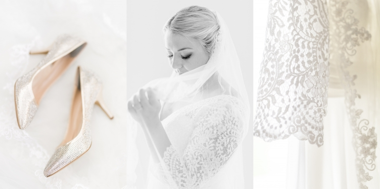 Fine art photography with bridal details