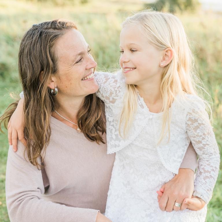 Familjefotografering med fotograf i Lund