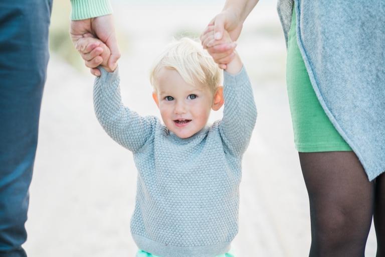 Barnfotografering utomhus i Skåne