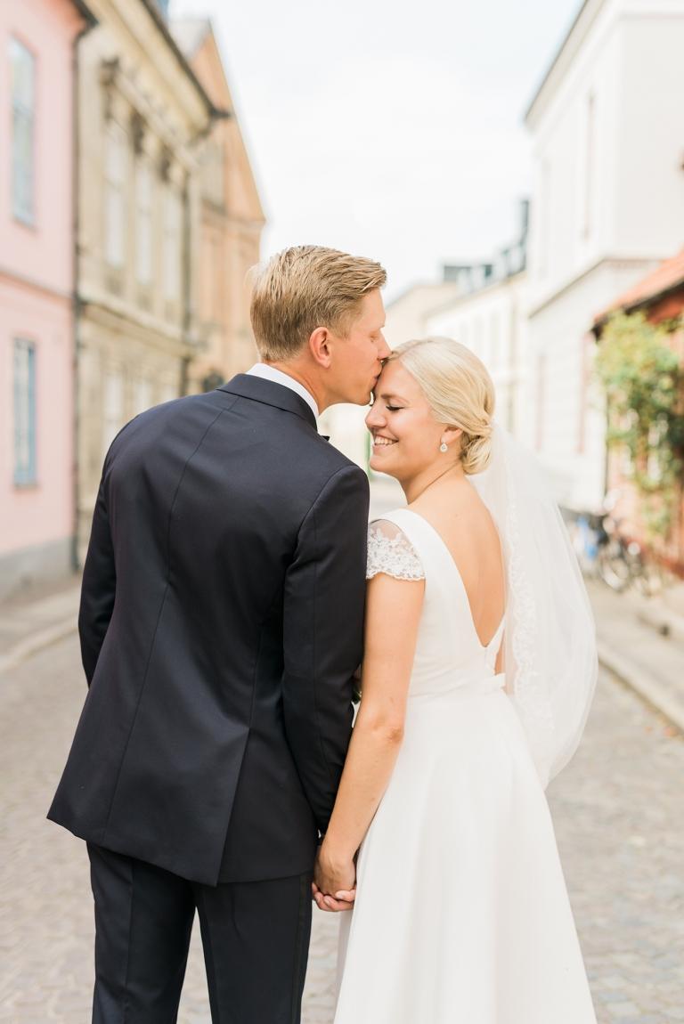 Porträttfotograf Lund - bröllopsbild av Kajsas Foto Skåne